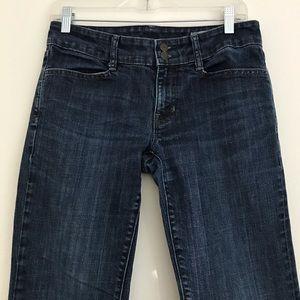 Gap Curvy Dark Wash Jeans Size 6 R Stretch Bootcut